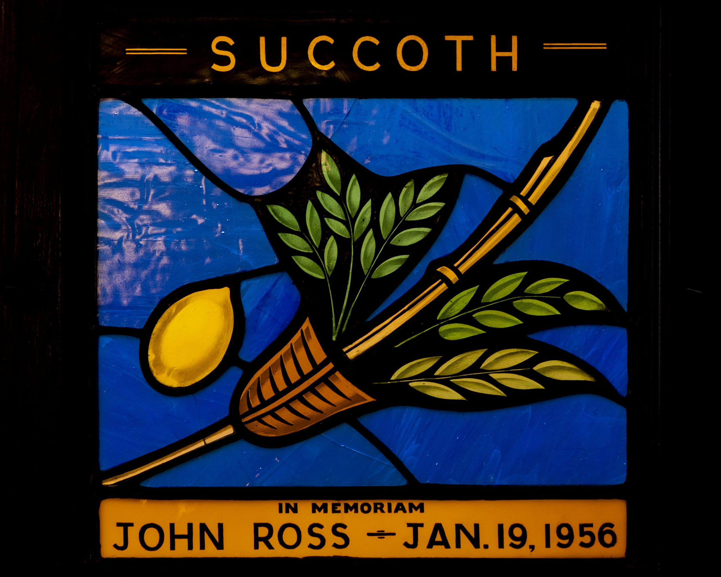 succoth - in memoriam john ross